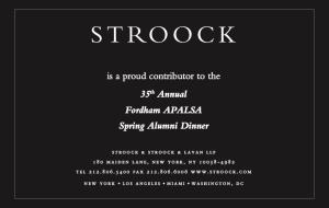Stroock 2014